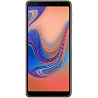 "Samsung Galaxy A7 (2018) Smartphone, Oro (Gold), Display 6.0"" 64 GB Espandibili, Dual Sim [Versione Italiana]"