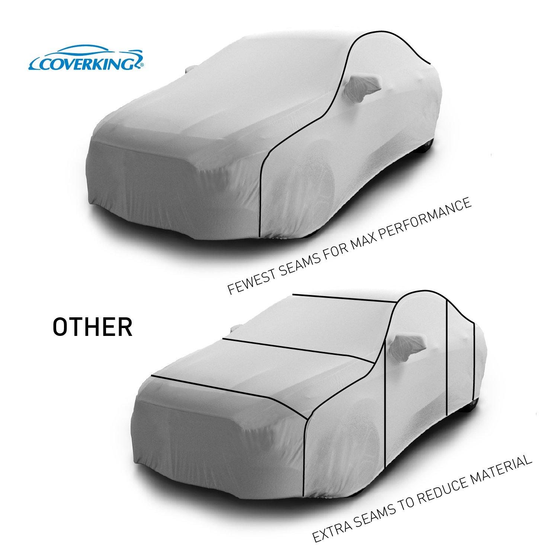 Mosom Plus Gray Coverking Custom Fit Car Cover for Select Honda Civic Models CVC3O2GHD9570