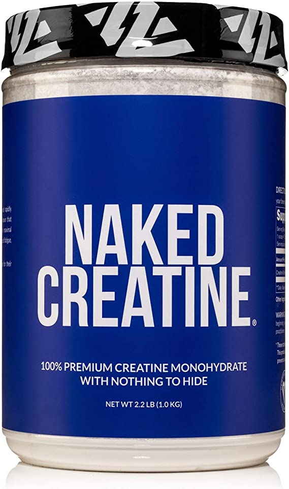 Amazon.com: Pure Creatine Monohydrate – 200 Servings - 1,000 Grams, 2.2lb Bulk, Vegan, Non-GMO, Gluten Free, Soy Free. Aid Strength Gains, No Artificial Ingredients - NAKED CREATINE: Health & Personal Care