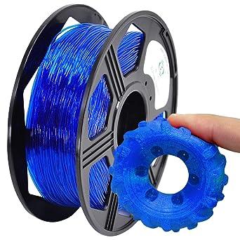 Amazon.com: YOYI filamento de impresora 3D de TPU, filamento ...