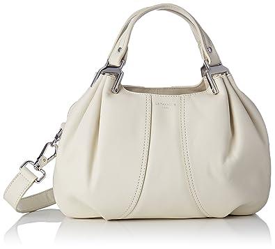 930a15663a9f Le Tanneur femme Alice Thx1002 Sac porte main Blanc Casse (Cocon ...