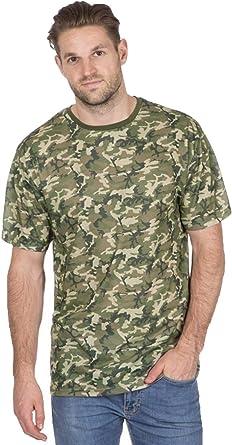 True Face - Camiseta de camuflaje para hombre, diseño de camuflaje militar, caza, estilo casual, cuello redondo, para combate: Amazon.es: Ropa y accesorios