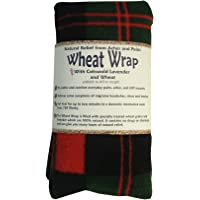 Vagabond Bags Wheat Wrap in Red and Green Cheque with Cotswold Lavender and Wheat