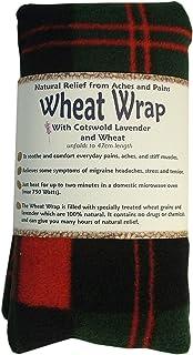 Vagabond bags - Saco térmico con semillas de trigo y lavanda de cotswold, diseño de