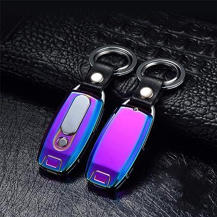 XuBa - Mechero de Metal con Carga USB y Linterna de Cadena ...