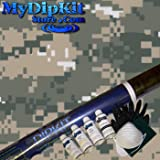 Tan Green White Digital Camo Hydrographics Kit MyDipKit - MC-841 - My Dip Kit