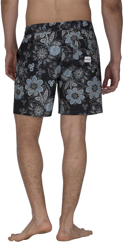 Hurley Mens Printed 17 Volley Swim Short