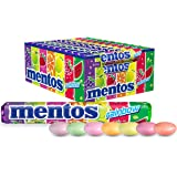 Mentos Rainbow Candy Roll, 40 Rolls, 40 x 37.5 g, Rainbow
