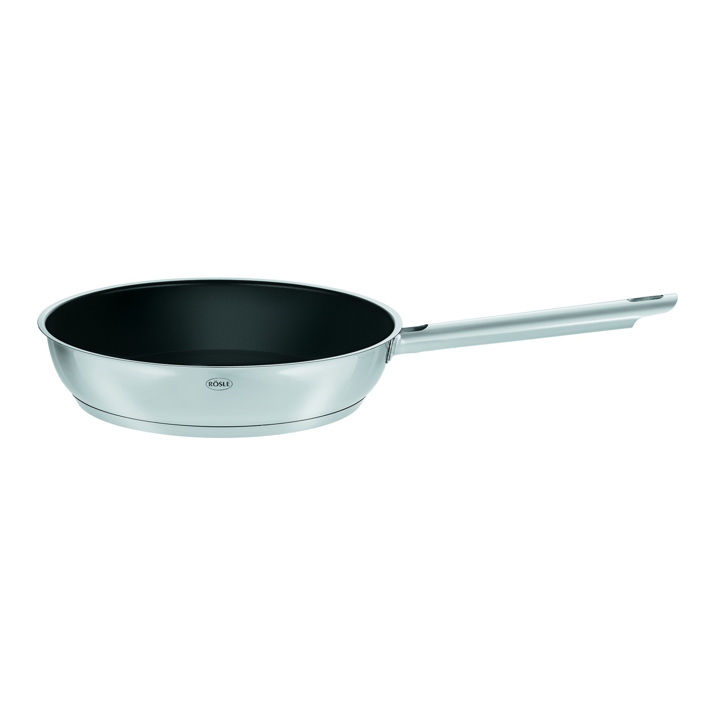 Rösle Elegance - Stainless Steel Cookware - Chef Pan with Ceramic Coating, 11-inch