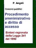 Procedimento amministrativo e diritto di accesso: Sintesi aggiornata della Legge 241 del 1990 per concorsi pubblici