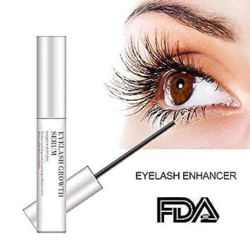 9975aaed119 Image Unavailable. Image not available for. Color: Eyelash Enhancer Serum,  Eyelash & Brow Growth Serum Natural Super Beauty Eyelashes Liquid