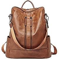 Women Backpack Purse Leather Fashion Travel Casual Detachable Ladies Shoulder Bag