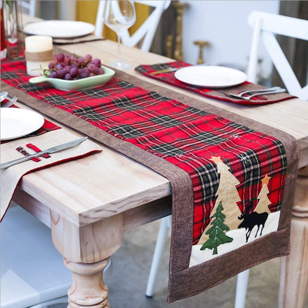 10/pieza puede Tarjetas de mesa con un oro farbenen ciervo en Navidad o tambi/én bajo el a/ño como festiva mesa decoraci/ón