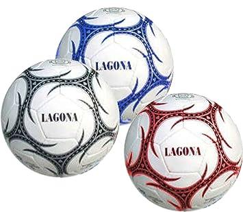 Cosas Internacionales - Lagona, balón fútbol, 3 capas, cuero ...