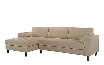 Amazon Com Divano Roma Furniture Mid Century Modern Tufted Fabric