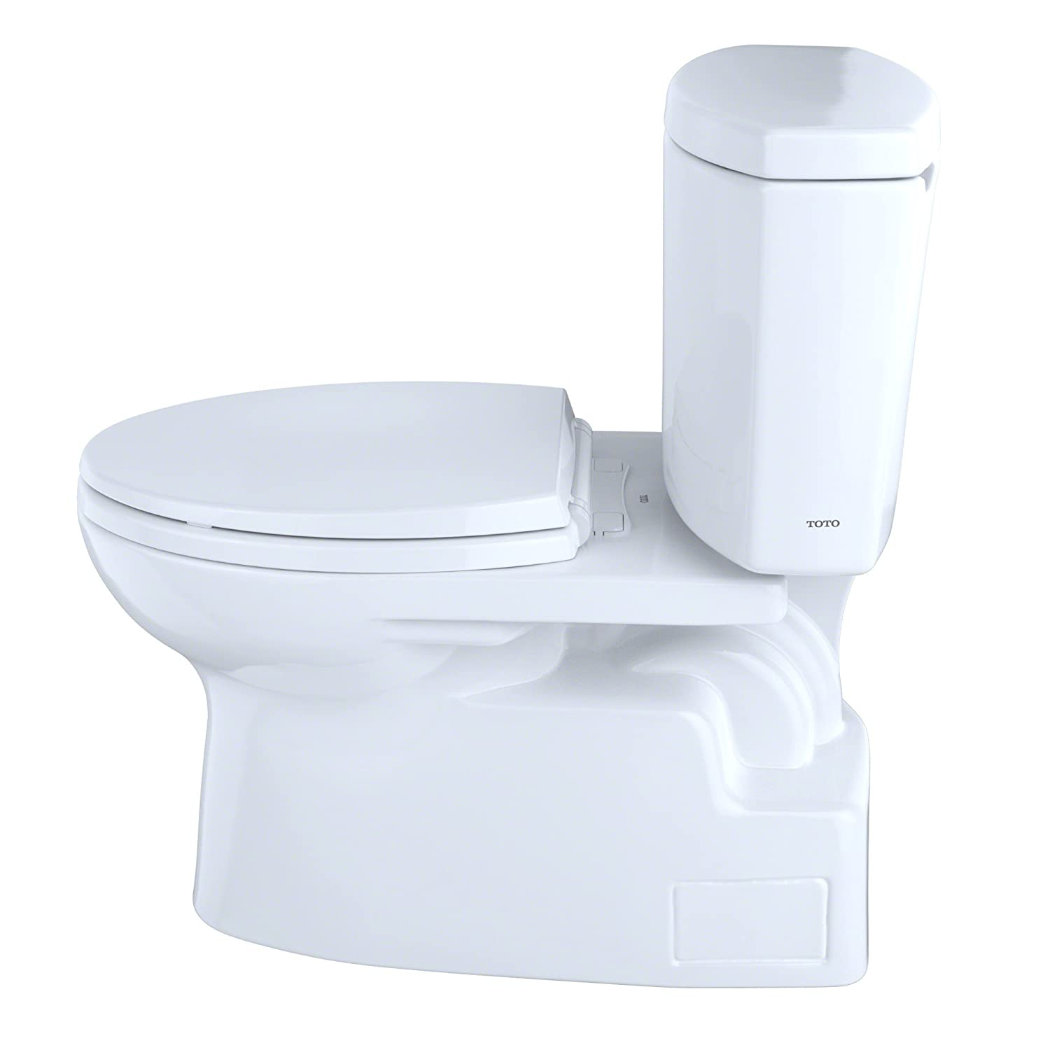 Toto CST474CEFG#01 Vespin II Two-Piece High-Efficiency Toilet, with ...