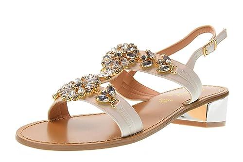 sale retailer 63b1f 94862 GARDINI SPIRIT Scarpe Donna Sandali 1378685 Bianco Taglia 37 ...