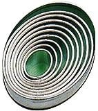 Contacto Ausstechform oval, glatt,9-tlg