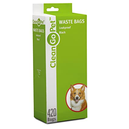 9669ce321397 Amazon.com : Clean Go Pet Replacement Waste Bags, 21-Pack of 20 ...