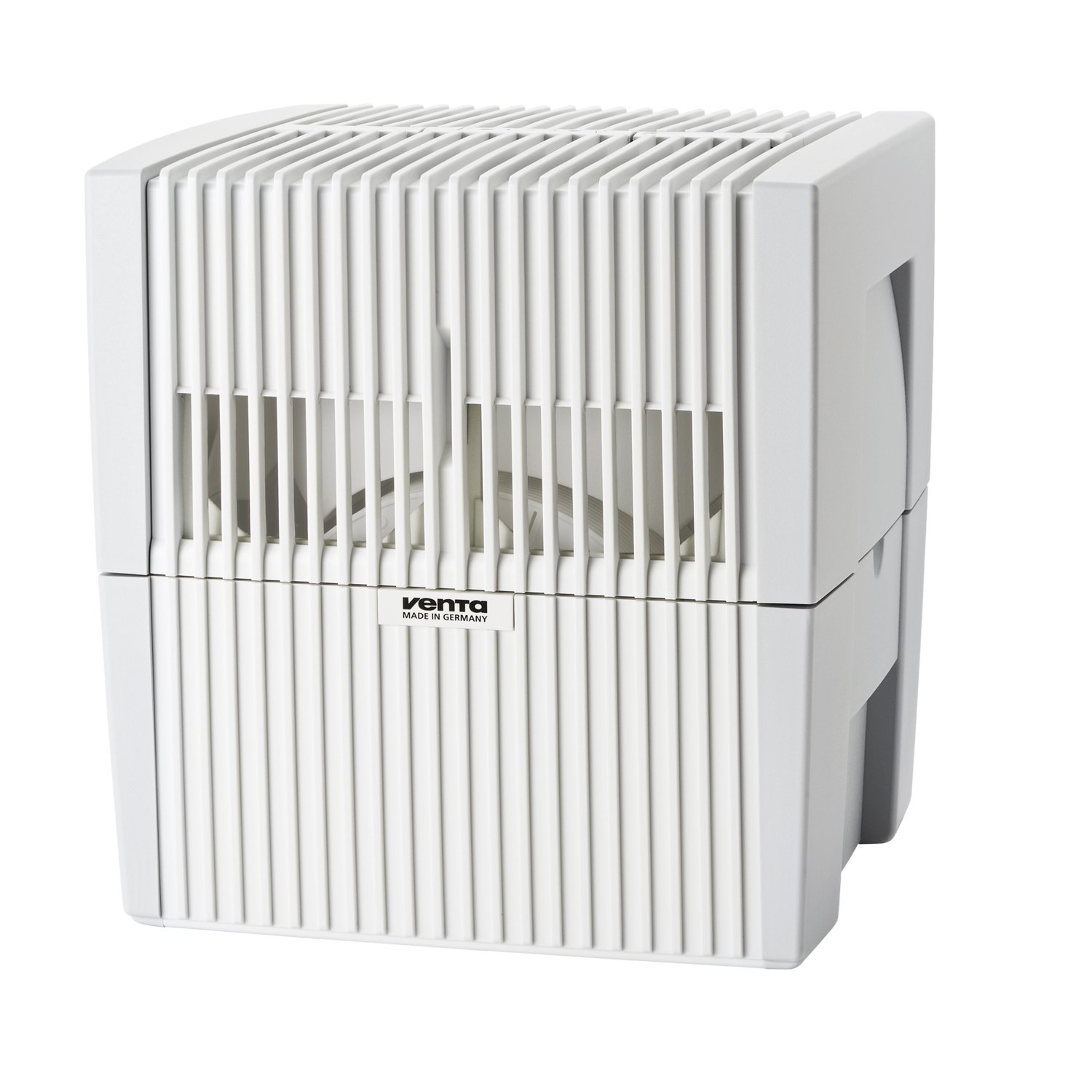 White 400 Square Feet Venta LW15 Airwasher 2-in-1 Humidifier and Air Purifier in Black