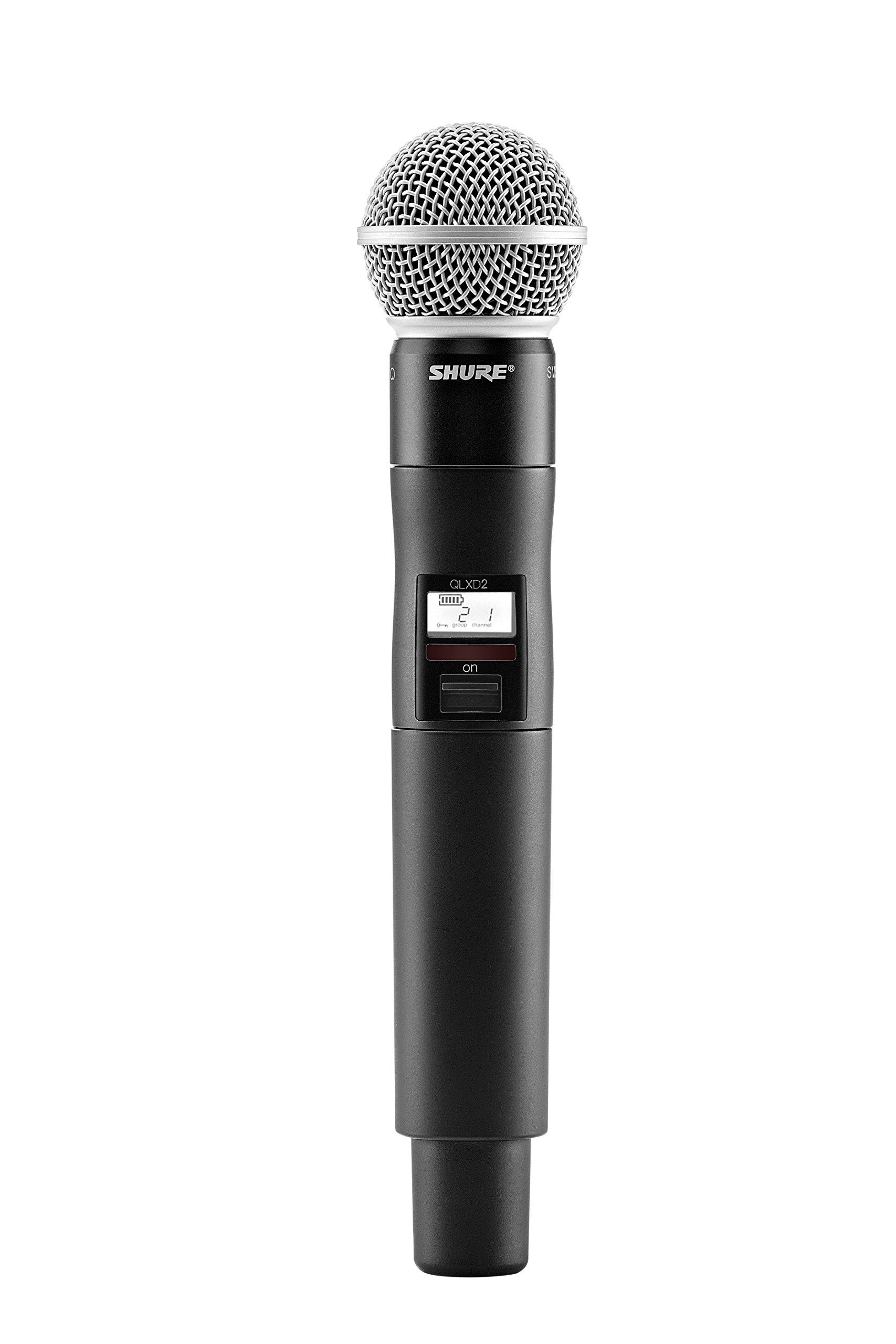 Microfono Shure Qlxd2/sm58 Handheld Wireless Transmitter ..