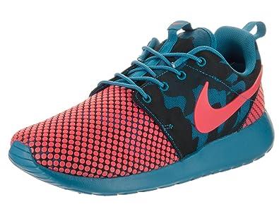 Amazon | NIKE Men's Roshe One Prem Plus Running ShoesBrigade Blue/Bright  Crimson | Road Running