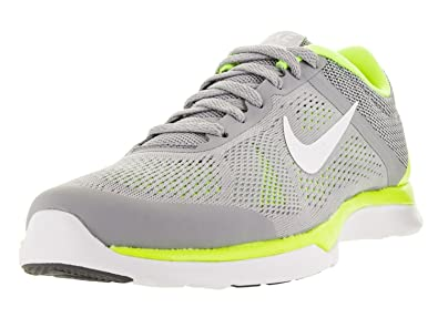 Nike Women s In Season TR 4 Cross Trainer Running Shoe Wolf Grey/Volt/Pure Platinum/White 36.5 B(M) EU/3.5 B...