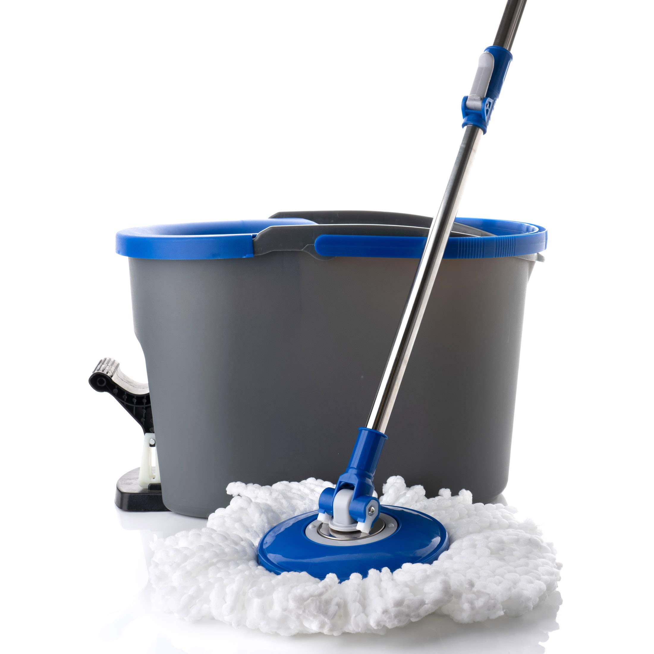 Simpli-Magic 79154 Spin Cleaning System with 3 Microfiber Mop Head Refills Included, Industrial by Simpli-Magic (Image #3)