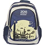 FIFA 40 Ltrs Blue::White School Backpack (MBE-FF008)