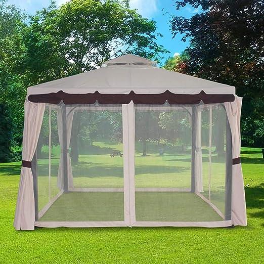 Greenbay Carpa/pabellón de jardín, aluminio, 3 x 3 m: Amazon.es ...