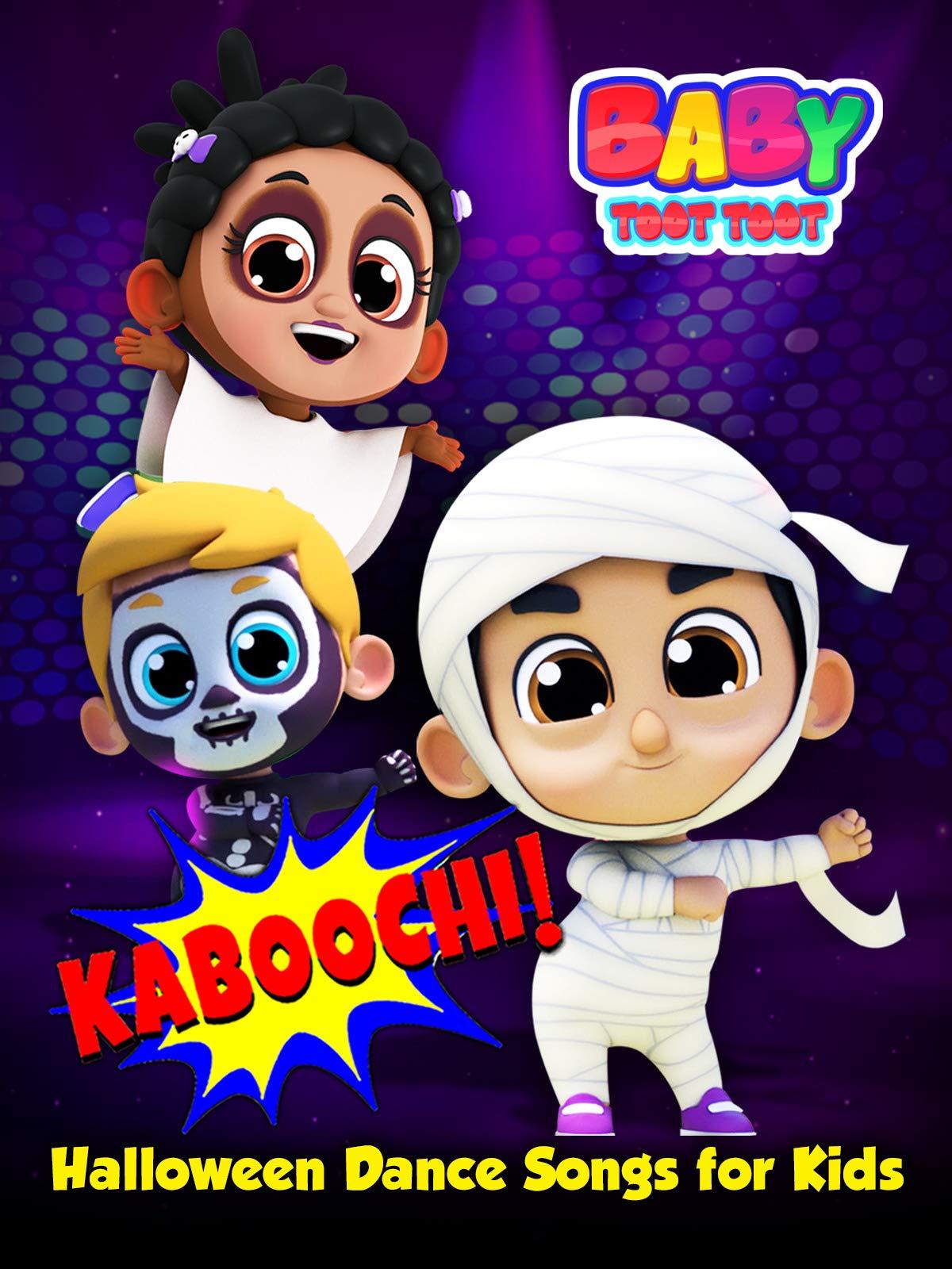Kaboochi! Halloween Dance Songs for Kids - Baby Toot Toot on Amazon Prime Video UK