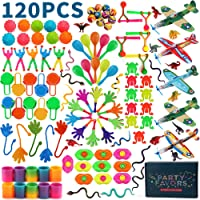 Amy&Benton 120pcs Party Favours Assortment for Kids Bulk Party Fillers Toys Loot Bag Fillers Toy Bulk Gift Toys for Boys…