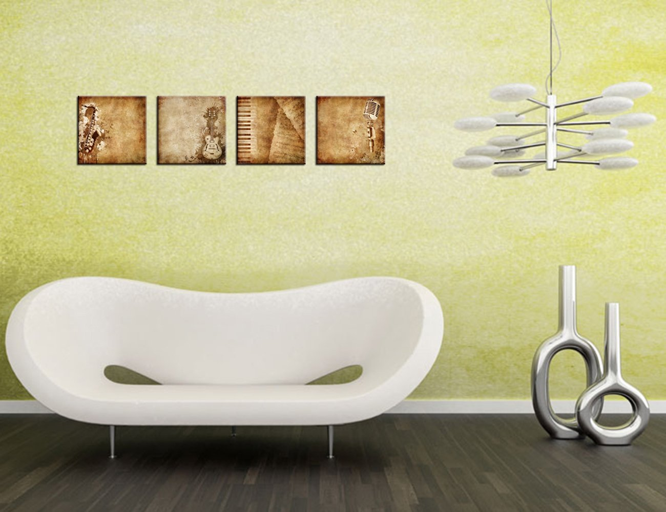 Beautiful Music Themed Wall Decor Ideas - The Wall Art Decorations ...