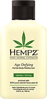 product image for Body Moisturizer - Daily Herbal Moisturizer, Shea Butter Anti-Aging Body Moisturizer - Body Lotion, Hemp Extract Lotion - Skin Care Products, 100% Pure Organic Hemp Seed Oil - 2 Pack