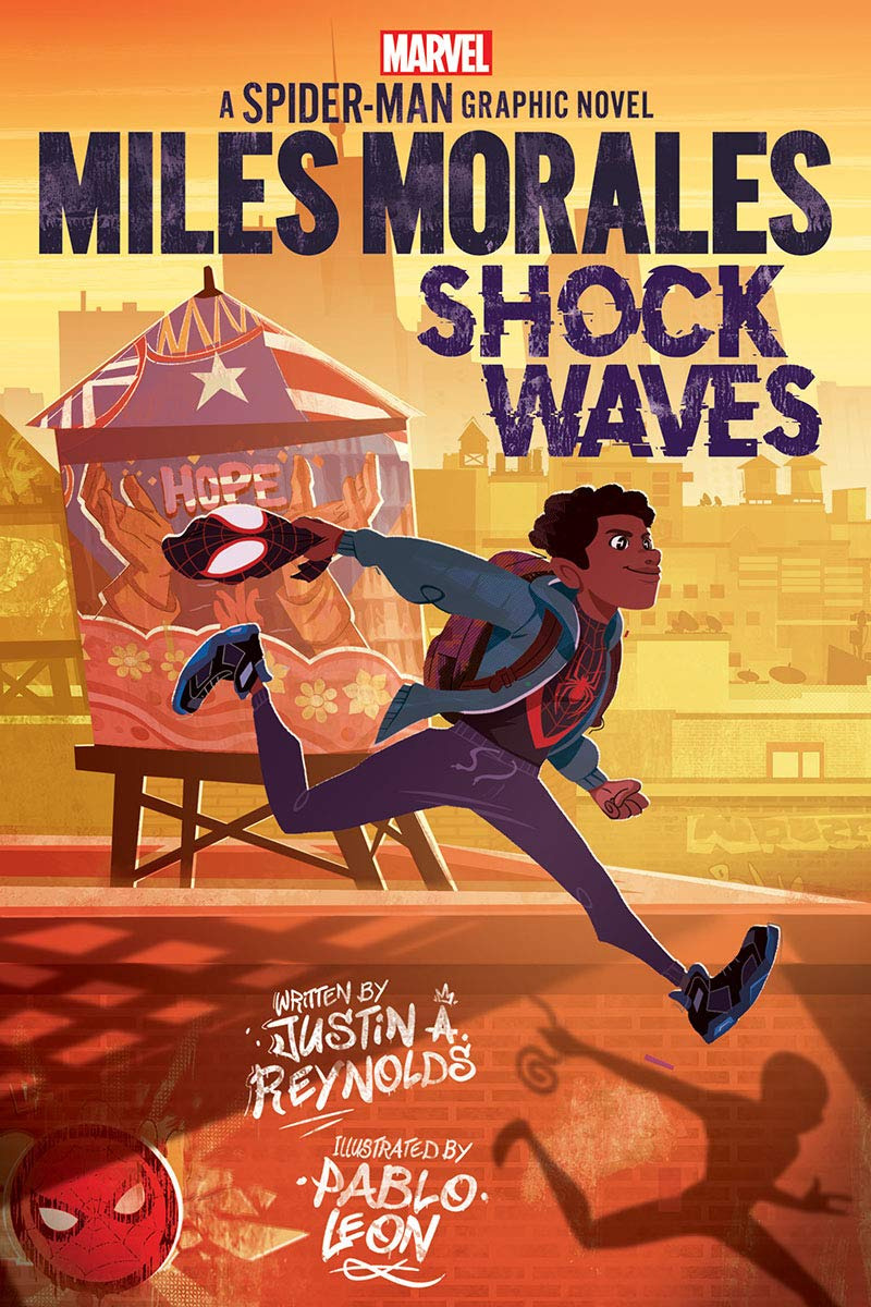 Miles Morales: Shock Waves Original Spider-Man Graphic Novel: Amazon.co.uk:  Reynolds, Justin A, Leon, Pablo: Books