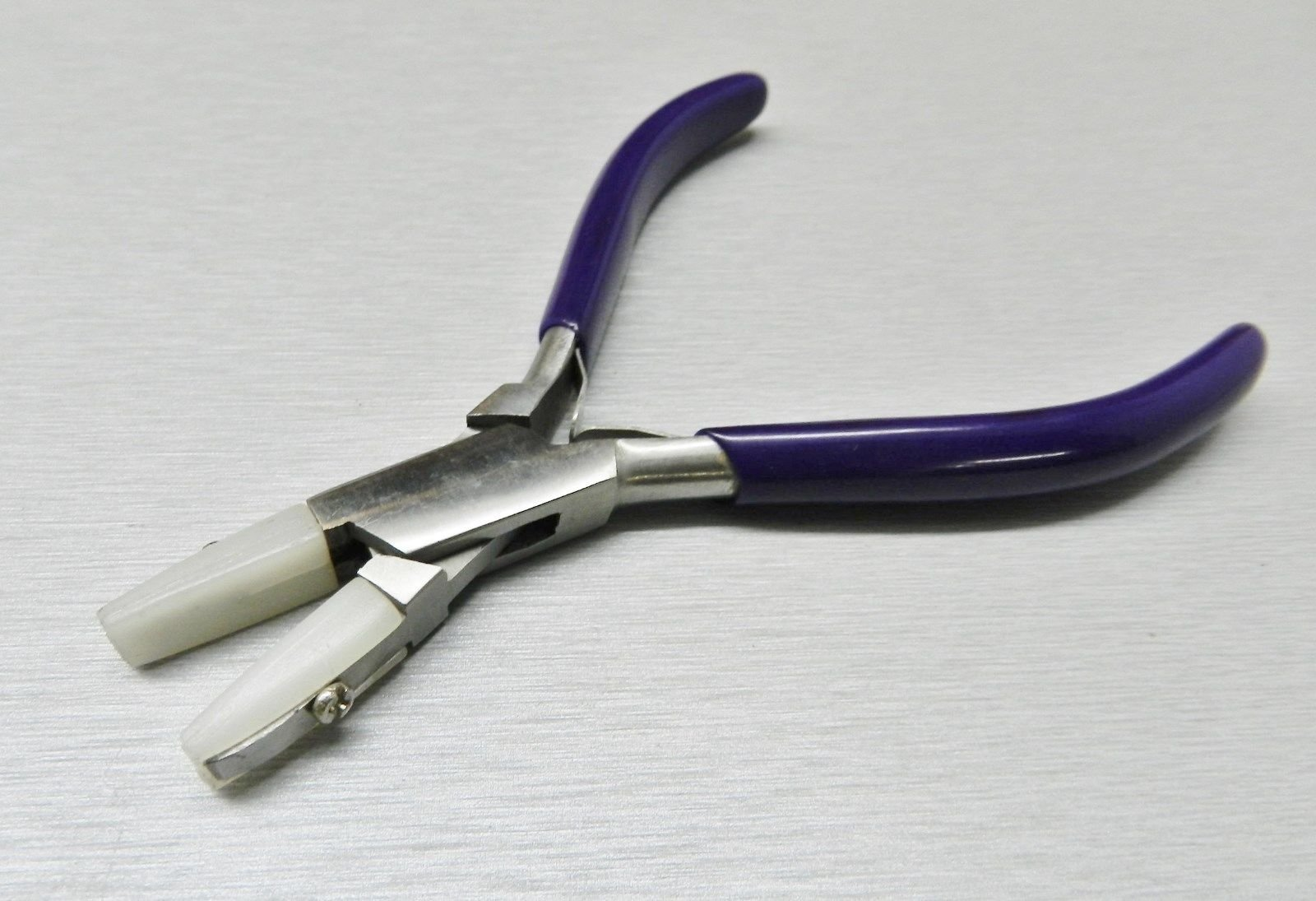 PLIERS FLAT NYLON JAWS NOSE JEWELRY BEAD WIRE WORK TOOL STRAIGHTEN WIRES + EXTRA (E 3) NOVELTOOLS by NOVELTOOLS (Image #9)