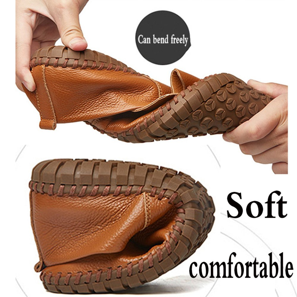 b6ca5c63643bb0 ... AHELMET Männer Casual Komfortable Komfortable Komfortable Atmungsaktive  Faule Schuhe Segelschuhe Sandalen Fahren Schuhe Vier Jahreszeiten Lofo