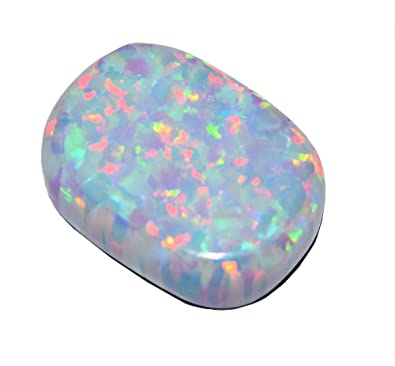 australian gemstone natural opal opals blue stone unset black oval