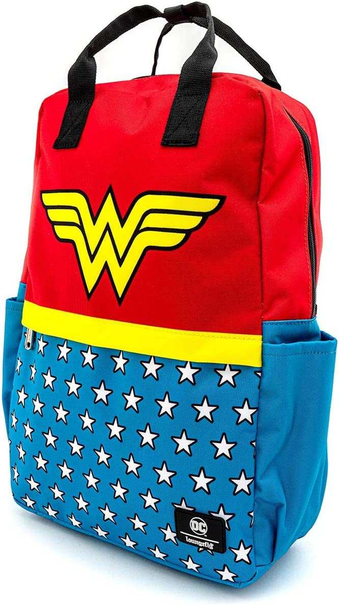 Loungefly DC Comics by Backpack Wonder Woman Vintage Borse