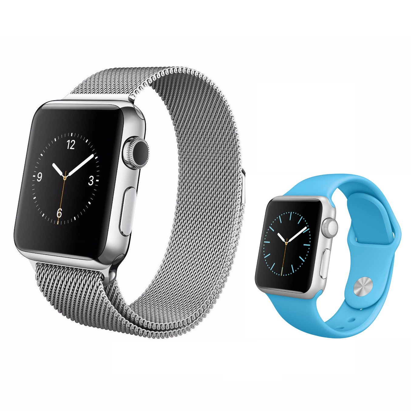 ELECAND Milanese Loop Band for Apple Watch 42mm,Stainless Steel Bands for Iwatch Series 1, 2, 3 + Bonus Band (Pack of 5)