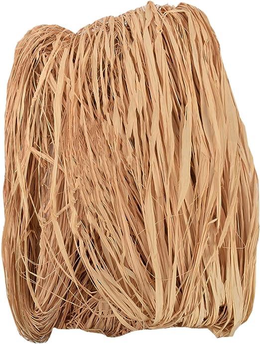 Ashland 8oz Decorative Long Natural Raffia Pack