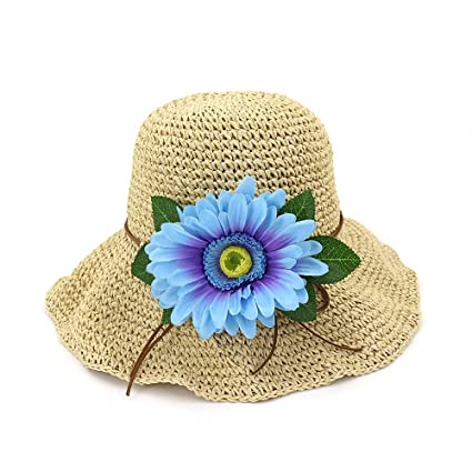 Yao Sombreros de paja de verano 04afa903b91