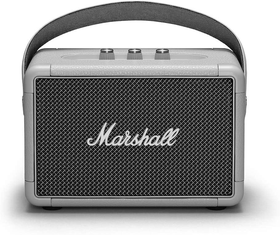 Black Marshall Kilburn II Portable Bluetooth Speaker 1002634