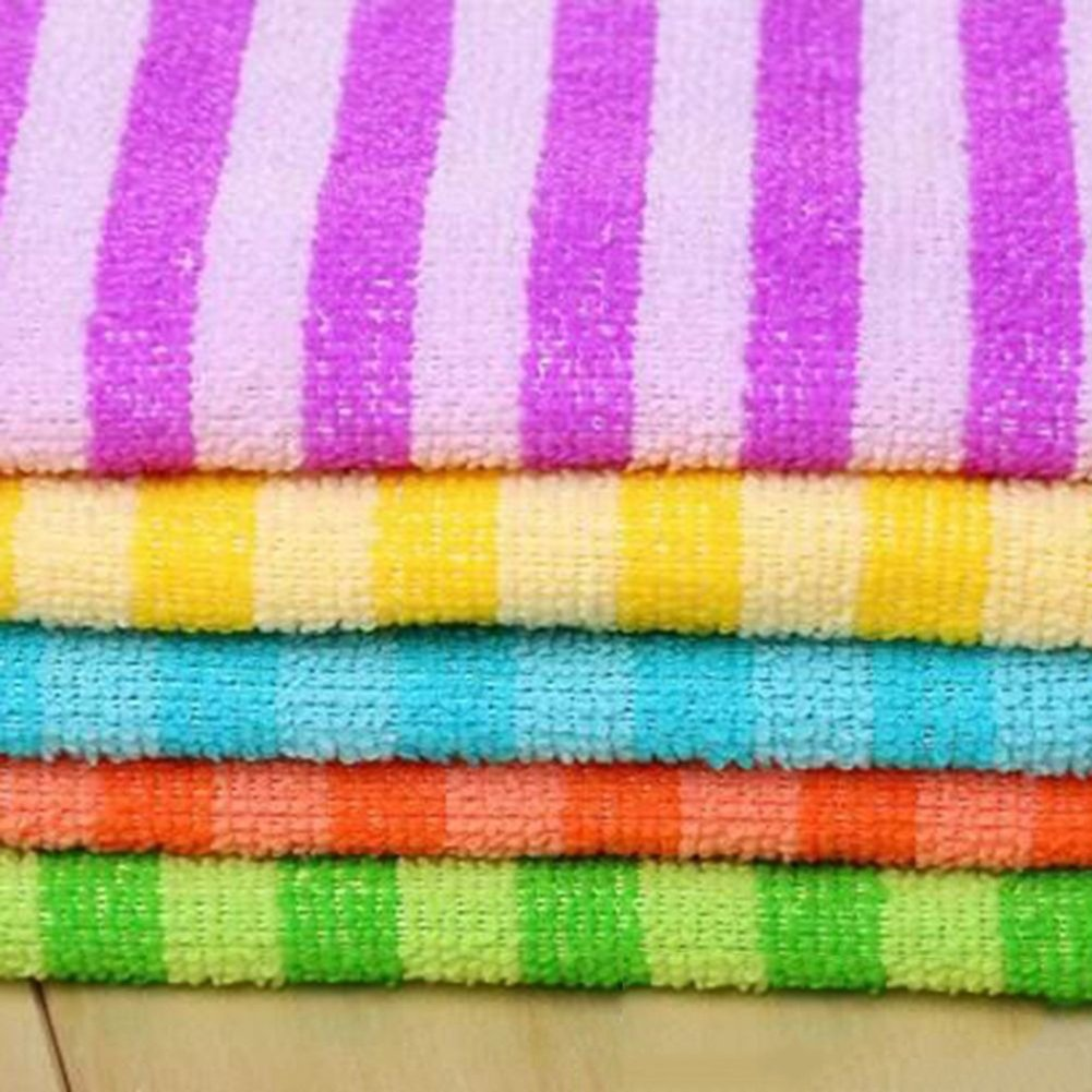 cuisine couleur al/éatoire maison Gemini/_mall/® Lot de 5/chiffons en microfibre Gants de Toilette Essuie-mains torchons plumeaux pour voiture 30/x 30/cm