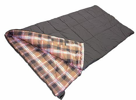 High Peak Celtic - Saco de dormir, tamaño 200 x 100 cm, color marrón