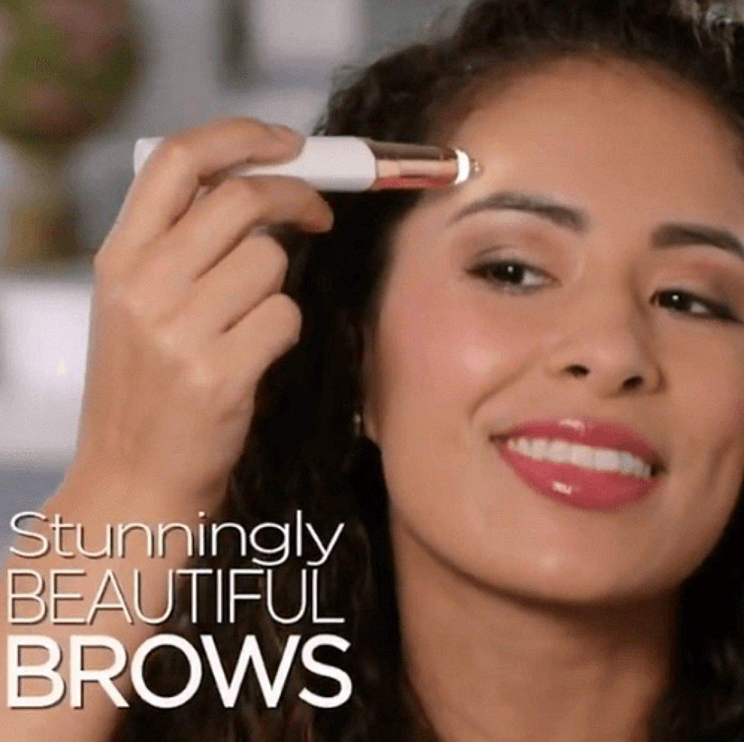 Flawlessly Brow Hair Remover - Brows Best Eyebrow Trimmer Women Painless Hair Remover, Flawlessly Eyebrow Remover As Seen On TV by Life In Color (Image #2)