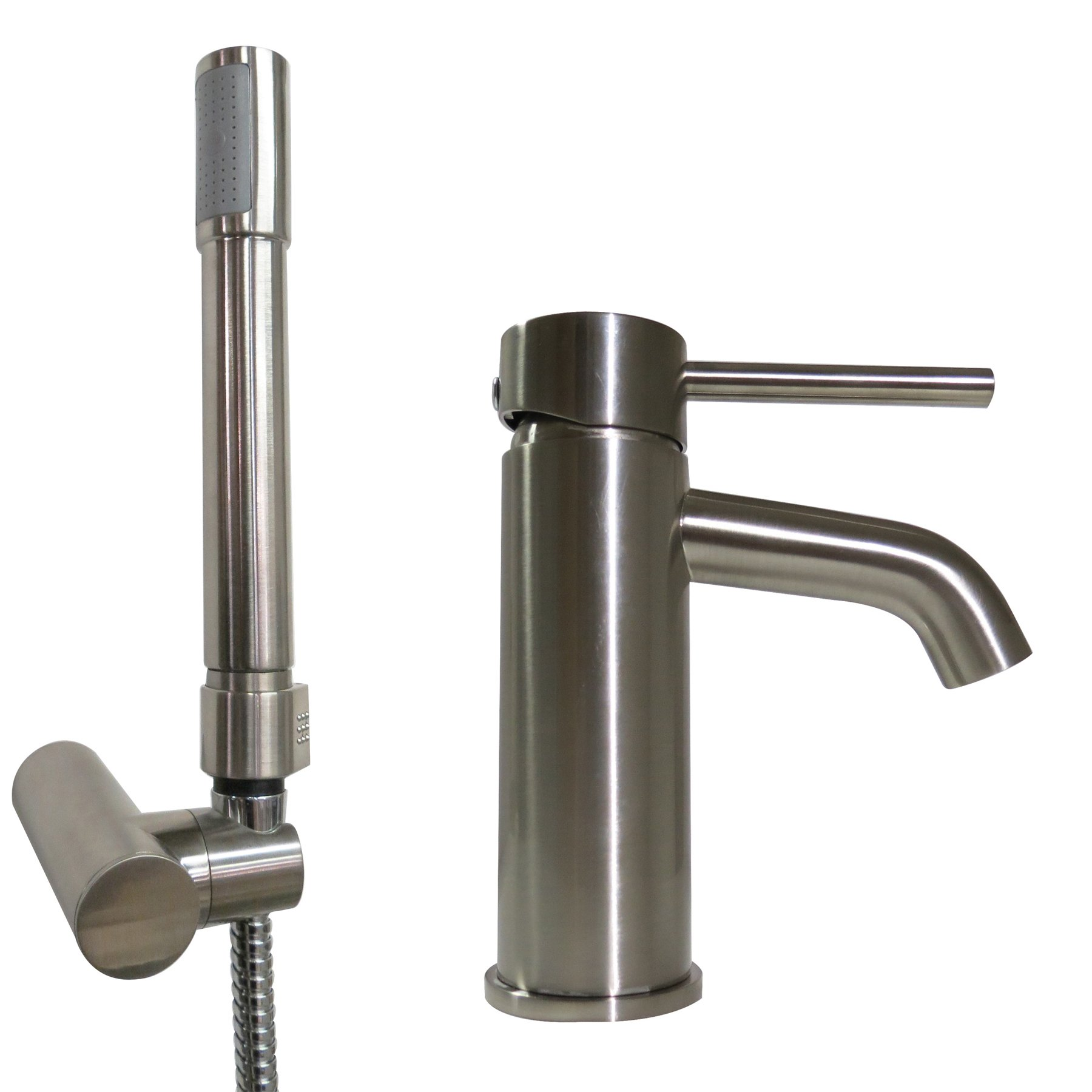 ITC (97836-NI-DB Contempo 9'' Brushed Nickel Faucet/Shower Kit by ITC (Image #1)