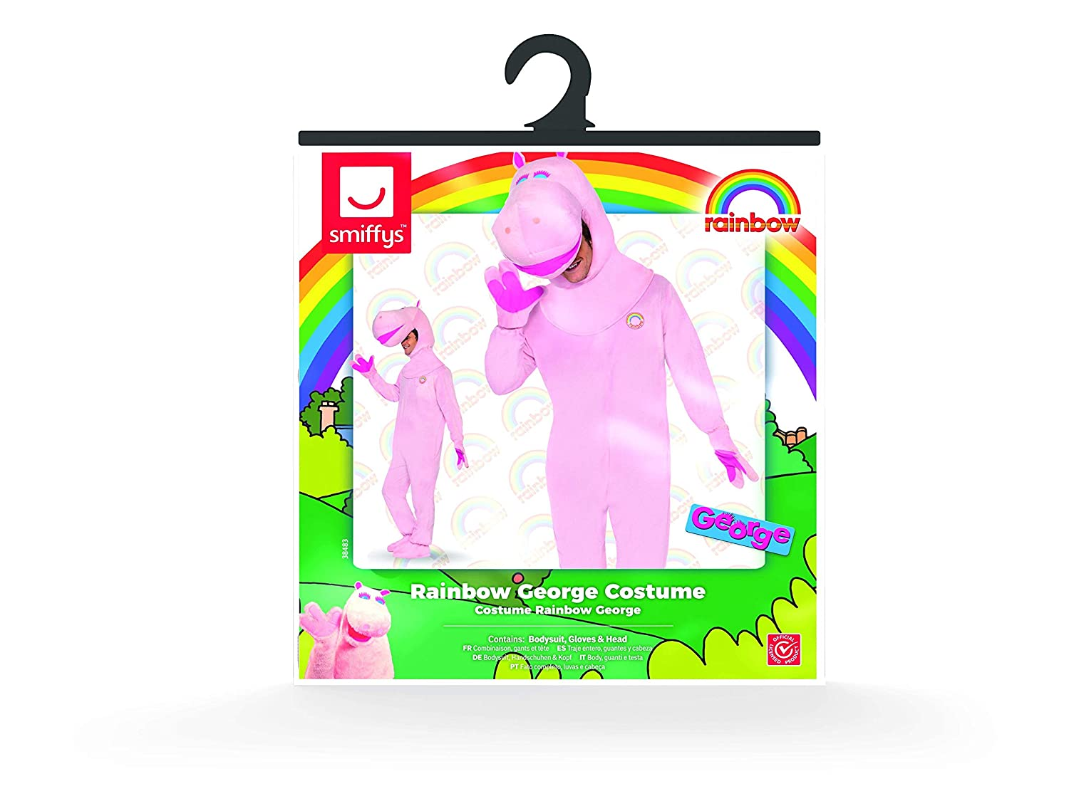 Amazon.com: Rainbow George Costume: Clothing