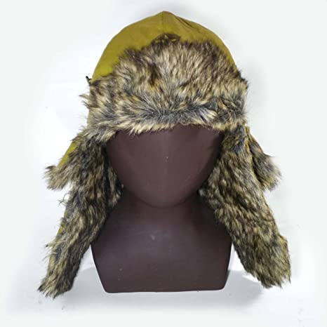 6ae96fe63e844d Amazon.com : Reproduction WWII Japanese Winter hat WW2 Japan Field ...