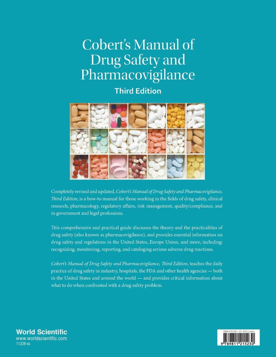 Cobert S Manual Of Drug Safety And Pharmacovigilance 3rd Edition Barton Cobert William W Gregory Jean Loup Thomas 9789811215230 Amazon Com Books